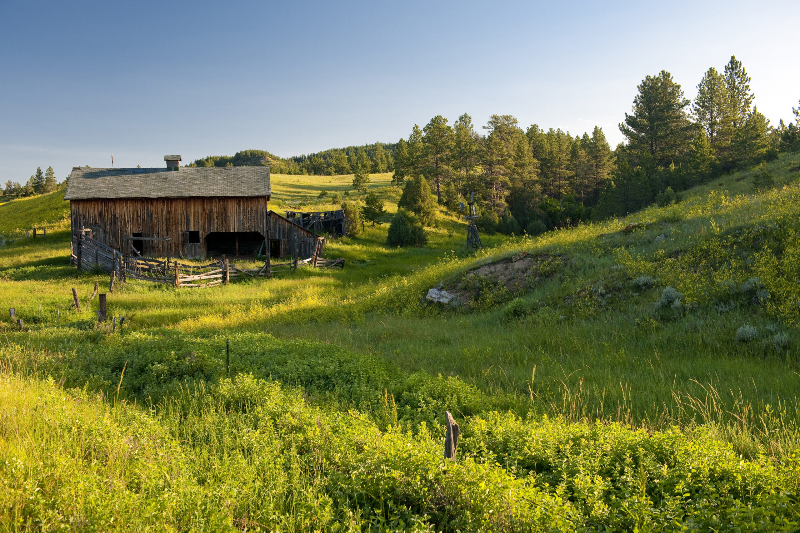 WY country barn